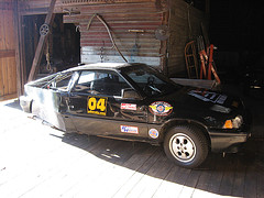BABE Rally car